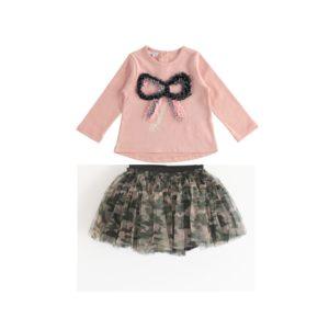iDO Pink Skirt Set