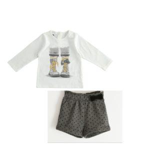 iDO Grey Shorts Set