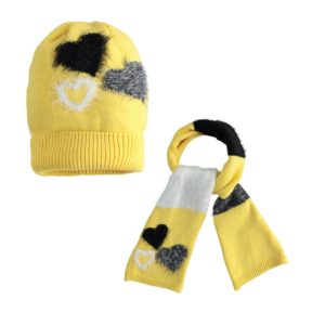 iDO Yellow Hat & Scarf Set 1079