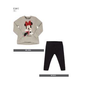 EMC Minnie Mouse Black Leggings Set