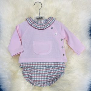 Babidu Pink 3 Piece Set 42265