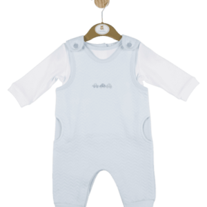 MINTINI  Blue Dungaree Set 4347