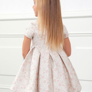 Abel & Lula Pink Dress 5549