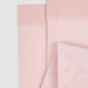 Abel & Lula Pink Floral Tights 5903