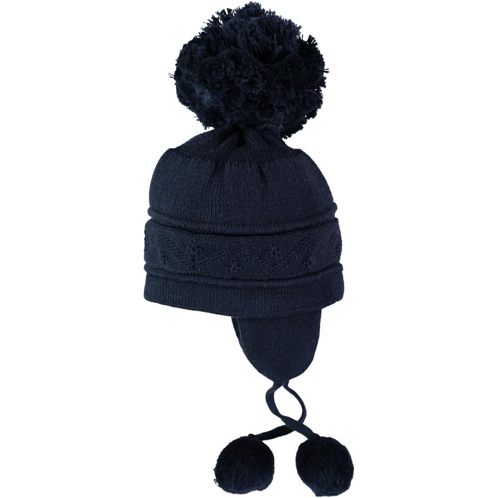 Emile et Rose Navy Griffin Hat