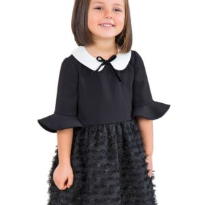 Abel & Lula Black Dress 5533