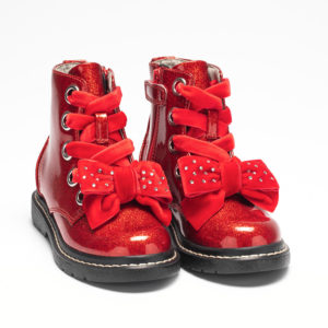 Lelli Kelly Glitter Bow Red