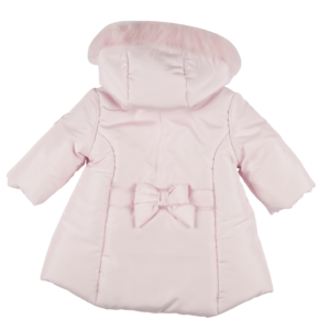 Mintini Girls Pink Coat 4442
