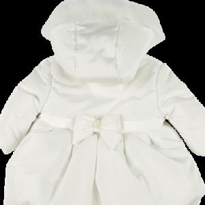 Mintini Girls White Coat 4459