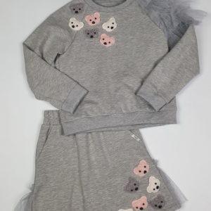 Daga Teddy Skirt Set