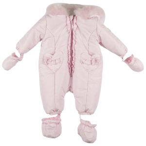 Mintini Pink Snowsuit 4443