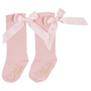 Pretty Originals Pink Socks
