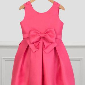 Abel & Lula Fuchsia Dress 5025