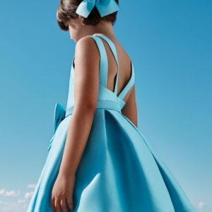 Abel & Lula Turquoise Dress 5025