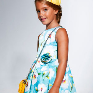 Abel & Lula Print Dress 5032