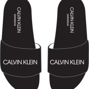 Calvin Klein Black Sliders 0075
