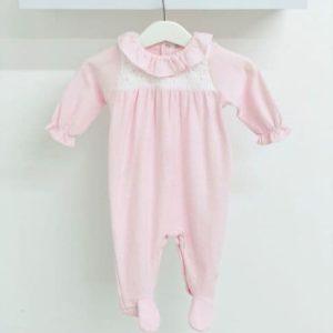 Babidu Pink Babygrow 13340