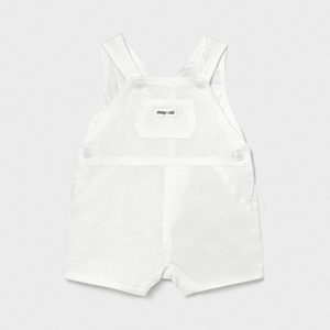 Mayoral Baby White Dungarees 1650