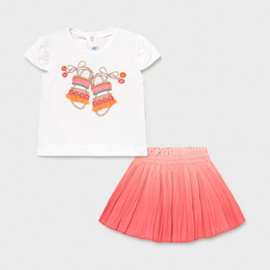 Mayoral Toddler Skirt Set 1996