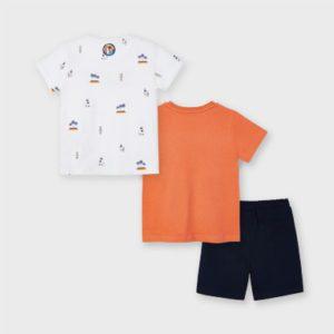 Mayoral 3 Piece Shorts Set 3641