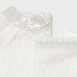 Mayoral Baby White Socks 9368