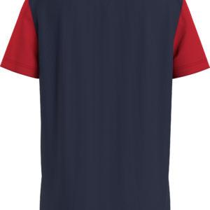 Tommy Hilfiger Navy Colourblock T-Shirt 6534