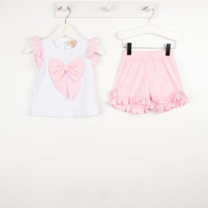 Caramelo Pink Shorts Set 31452