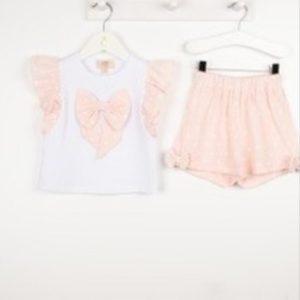 Caramelo Pink Shorts Set 31448