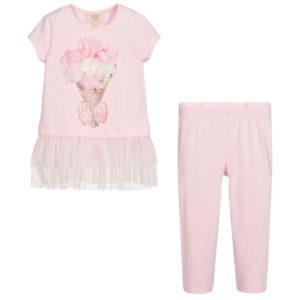 Caramelo Pink Leggings Set 11424