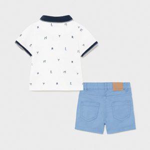 Mayoral Toddler Blue Shorts Set 1254