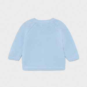 Mayoral Baby Blue Cardigan 1330