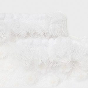 Mayoral Baby White Socks 9366