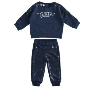 Ido Navy Sequin Tracksuit