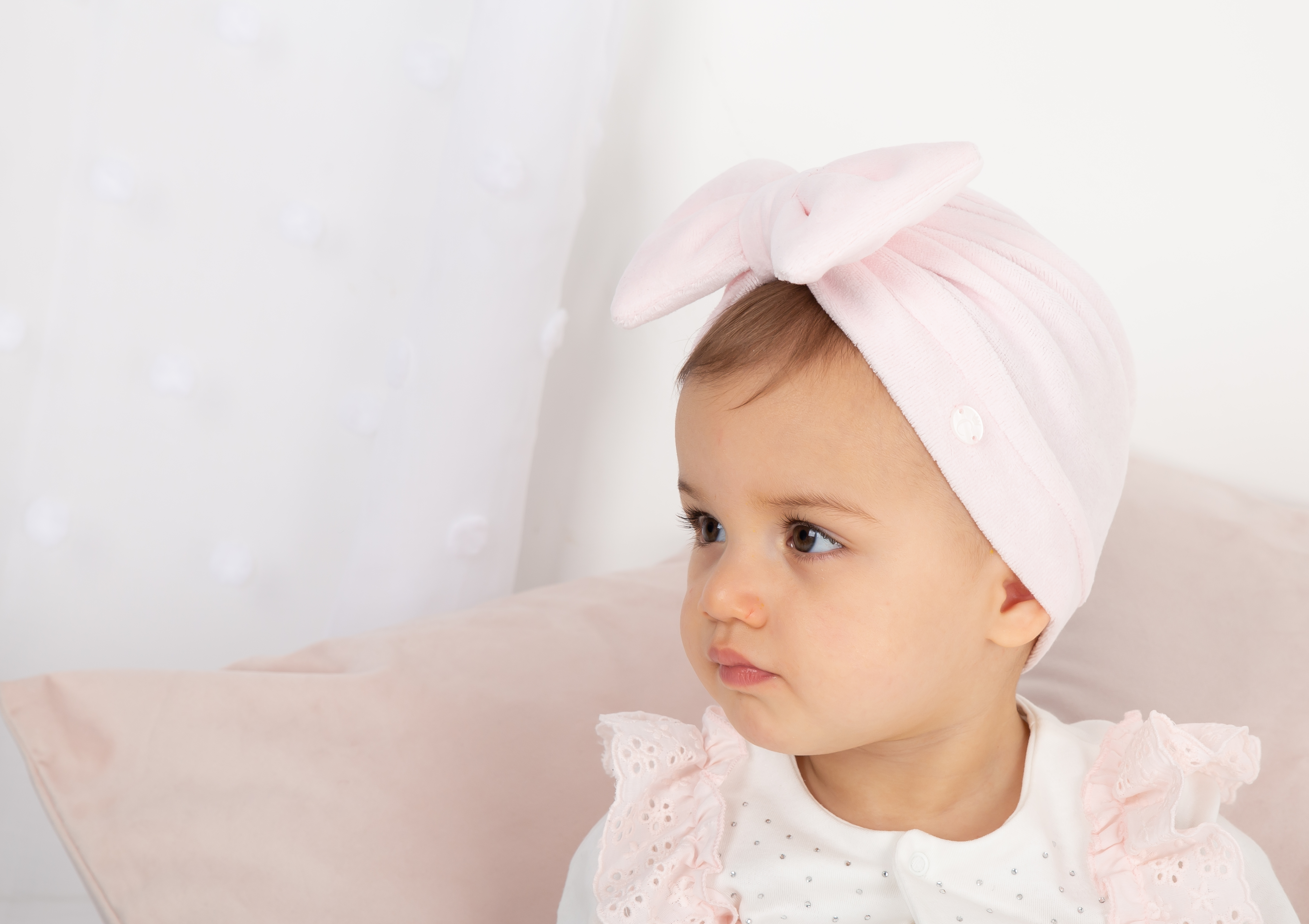 Caramelo White Turban 104550