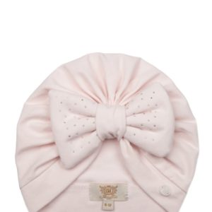 Caramelo Pink Diamanté Turban 104546